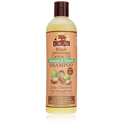 Okay Jamaican Castor Oil Moisture Growth Shampoo
