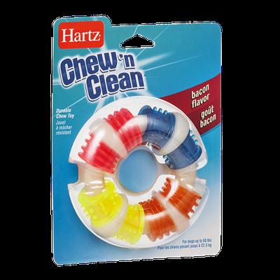 Hartz Chew'n Clean Durable Chew Toy Bacon Flavor