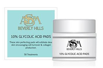 ASDM Beverly Hills 10% Glycolic Acid Pads