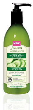 Avalon Organics Cucumber Gluten Free Hand & Body Lotion