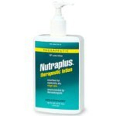 Nutraderm Nutraplus therapeutic lotion, 10% urea lotion - 16 oz