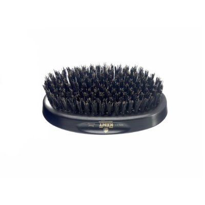 Kent Brushes Oval Ebony Wood Hairbrush