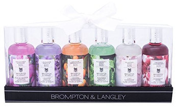 Upper Canada Soap Brompton and Langley 6-Piece Body Wash Gift Set
