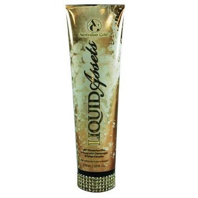 Australian Gold LIQUID ASSETS Tanning Bed Lotion 10 oz