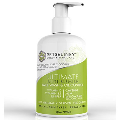 Retseliney Ultimate Anti-Blemish Face Wash & Oil Control