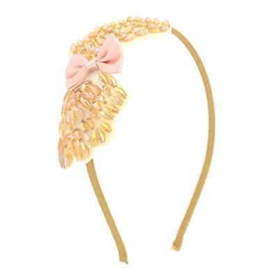 Uxcell Rhinestones Embellished Ladies Slim Hair Hoop Headband