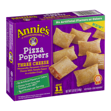 Annie's Homegrown Pizza Poppers Three Cheese