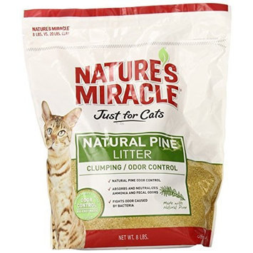 Natures Miracle Nature's Miracle Natural Pine Clumping Litter, 8-Pound (P-5362)