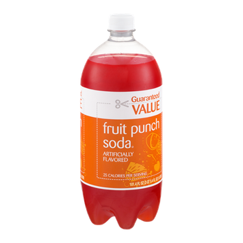 Guaranteed Value Fruit Punch Soda