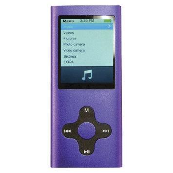 Eclipse Mach Speed 4GB 180G2 Flash MP3 Player - Purple (ECL180G2PU)