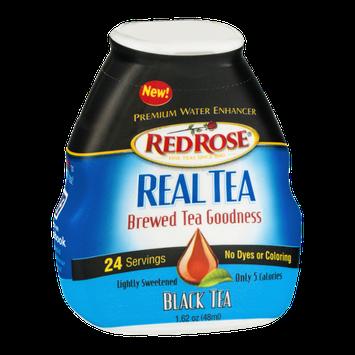Red Rose Real Tea Premium Water Enhancer Black Tea