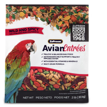 ZuPreem Avian Entrees Wild & Spicy Mix Parrot Food