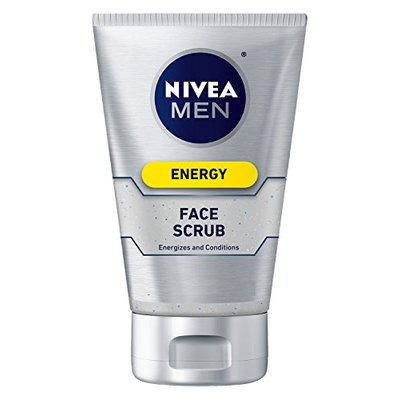 NIVEA Men Energy Face Scrub Foaming Gel