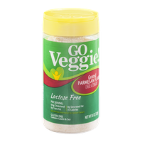 GO Veggie! Lactose Free Grated Parmesan Cheese