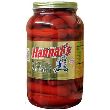 HANNAH'S PICKLED SAUSAGE 4LB JAR