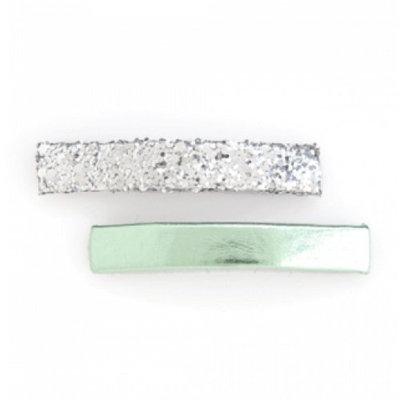 Ban.do Bobbi Set Sparkle and Shine Mint Silver