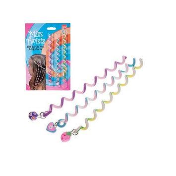 Harry D Koenig Hair Ornaments Twists with Novelty Bead