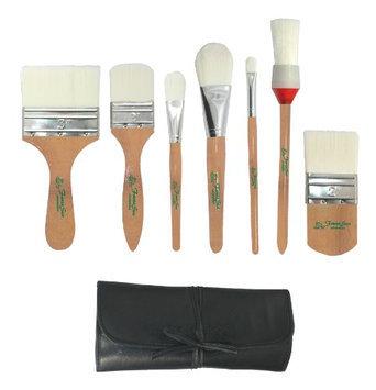 FantaSea 7 piece Synthetic Body Brush Set