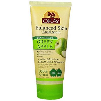 Okay Green Apple Facial Scrub