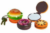 Dci 29240 Tasty Treats Keychain and Compact Mirror
