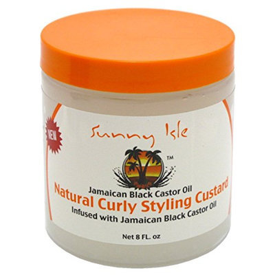 Sunny Isle Jamaican Black Castor Oil Curly Styling Custard