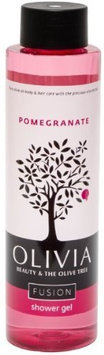Olivia Olive Oil Beauty Products / Fusion Shower Gel Pomegranate 10oz.