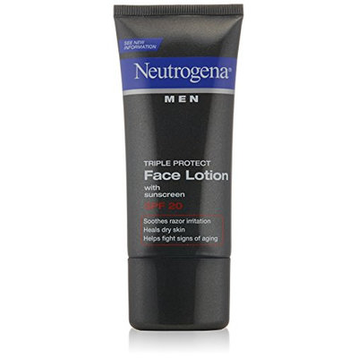 Neutrogena Triple Protect Face Lotion for Men SPF 20