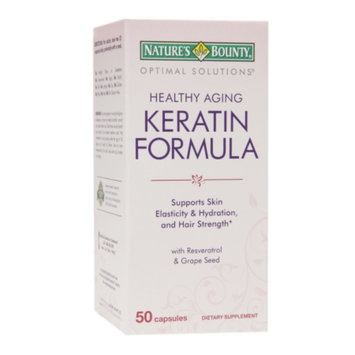 Natures Bounty Optimal Solutions Keratin - 50 Count
