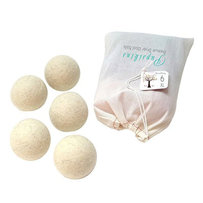Natural Things Natural Wool Dryer Balls (6) XL size
