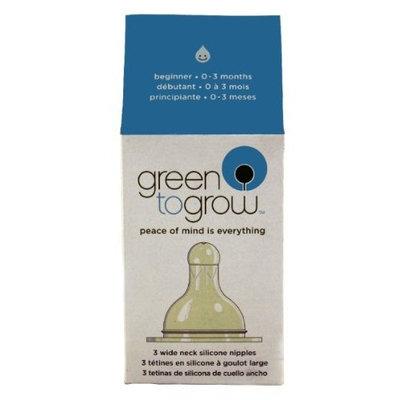 Green to grow Beginner Wide Neck Nipples