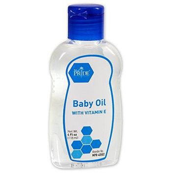 Shield Line MedPride 40502 Baby Oil, 4 Oz. Bottle, Flip Top Lid, 48 Bottles/Carton