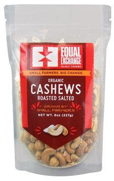Equal Exchange CASHEWS, OG2, RSTD, SALTED, (Pack of 6)