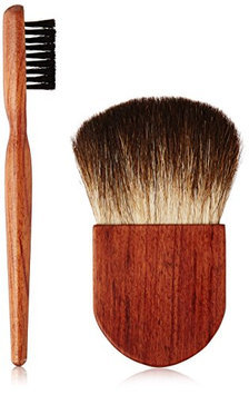 ON&OFF Wooden Flawless Finisher Jumbo Brow Brush