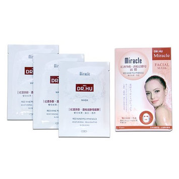Dr. Hu Miracle Red Wine Polyphenols Facial Mask