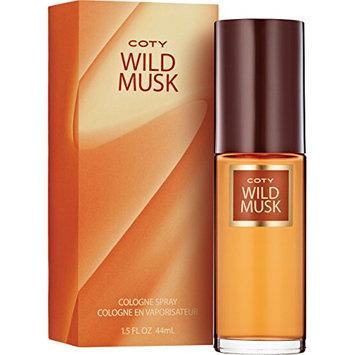 Coty Wild Musk Cologne Spray 1.5 Ounce