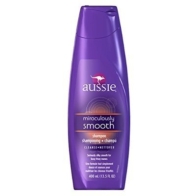 Aussie Miraculously Smooth Shampoo 13.5 Fl Oz (Pack of 6)