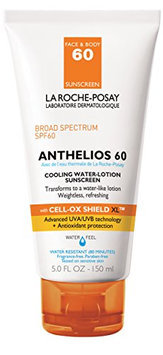 La Roche-Posay Anthelios 60 Cooling Water-Lotion Sunscreen for Face and Body