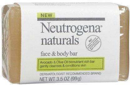 Neutrogena Neutrogena Naturals Face and Body Bar-3.5 Oz (pack Of 5)