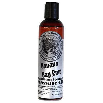 Black Canyon Massage Oil 4 Oz (Banana Bay Rum)