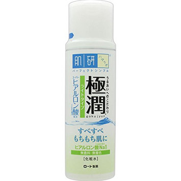 Rohto Hada-Labo Goku-jun Hyaluronic Lotion Light 170ml / 5.7 floz. (Japan Import)