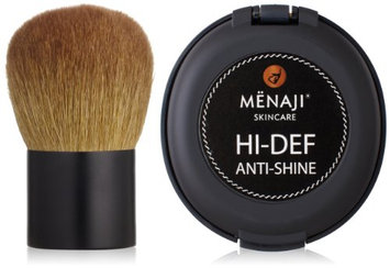 Mënaji HDPV Anti-Shine Sunless Tan and Deluxe Kabuki Brush