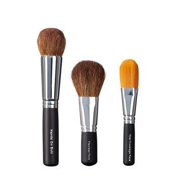 VEGAN LOVE Hand On Buki Flawless Face Total Coverage Face Brush Trio