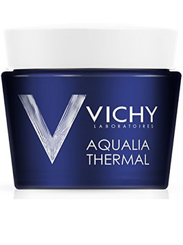Vichy Aqualia Thermal Night Spa Replenishing Anti-Fatigue Night Cream and Face Mask with Hyaluronic Acid