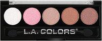 L. A. Colors 5 Color Metallic Eyeshadow CEP24 Unforgettable