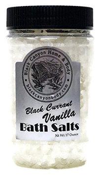 Black Canyon Highly Scented Bath Salts 20 Oz (Black Currant Vanilla)
