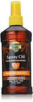 Banana Boat Sunscreen Deep Tanning Oil Broad Spectrum Sun Care Sunscreen Spray - SPF 8