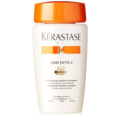 Kerastase Nutritive Bain Satin 2 Complete Nutrition Shampoo For Dry and Sensitised Hair
