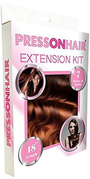 Press On Hair 7 Piece Extension Kit