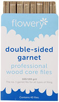 Flowery Wood Core Professional File Double Sided Garnet