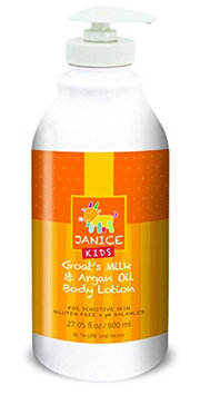 Janice Kids Goat's Milk and Argan Oil Lotion
